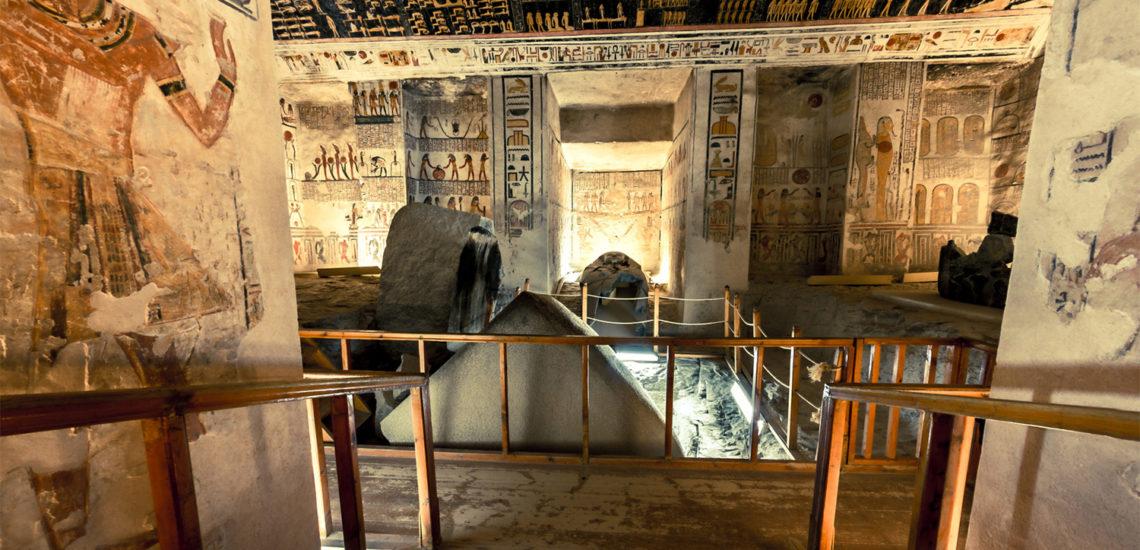 Гробницы фараонов или энциклопедии в камне. На что посмотреть?